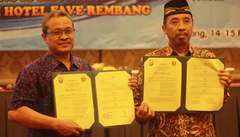 UMK – Pemkab Rembang Jalin Kerja Sama
