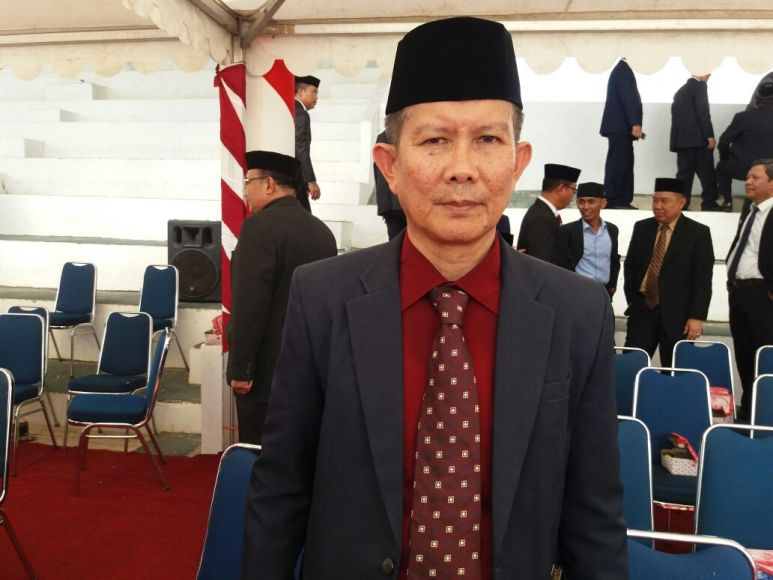 Kepala Badan BP2RD Kabupaten Konawe Selatan Drs Sahrin Saudale, M. Si FOTO : MAHIDIN