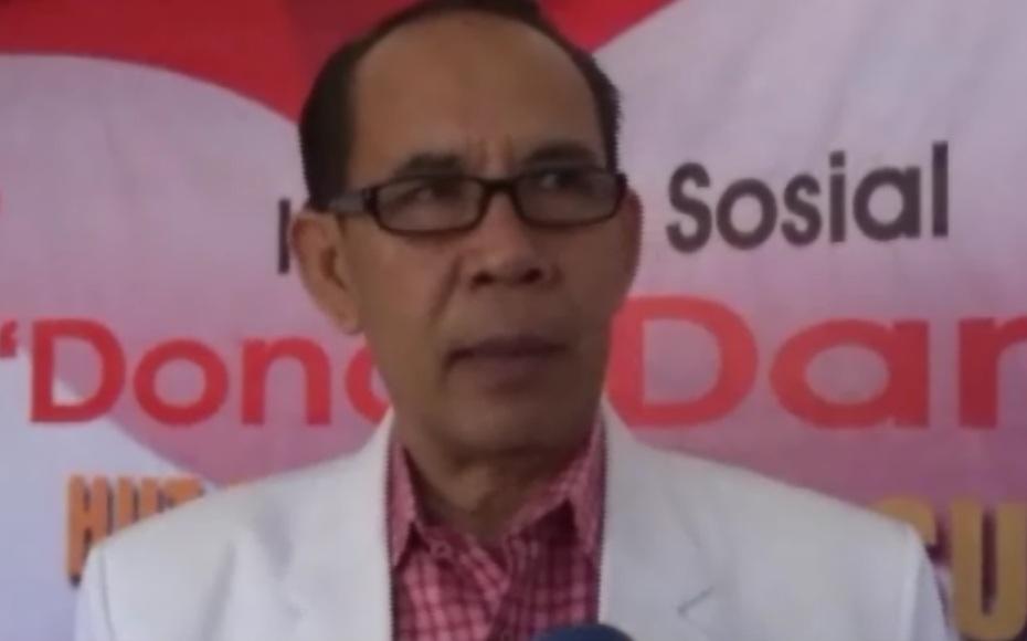 Kepala UTD PMI Sultra dr. Ansar sangka. FOTO : FEBRI