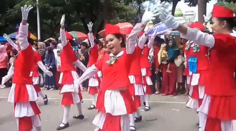 Video, Putri-putri Cantik SMPN 9 di HUT ke 187 Kota Kendari