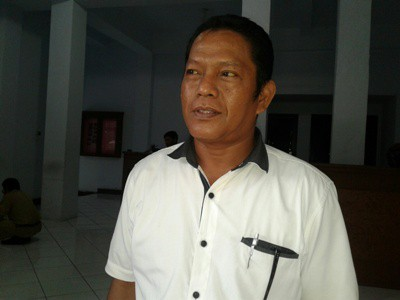 Ketua Bapilu DPC Partai Demokrat Bantaeng Andy Arasy Pakkana. FOTO : SYAMSUDDIN