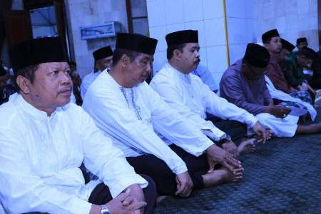Peringatan israh Mirah Nabi Muhammad SAW 1438 H di Masjid Taqwa Bantaeng. FOTO : SYAMSUDDIN