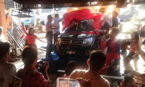 Suzuki IGNIS di Launching di Bumi Arung Palakka, Bone. FOTO : SYAMSUDDIN