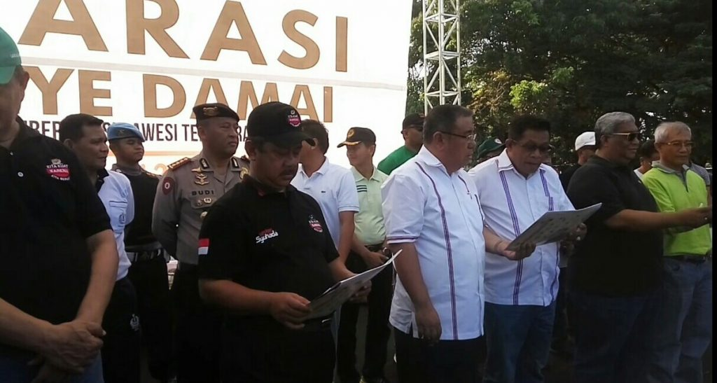 Deklarasi Kampanye Damai Paslon Gubernur dan Wakil Gubernur