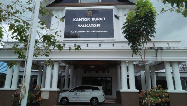 Gedung KANTOR Bupati Wakatobi Dibenahi Rp 942 Juta