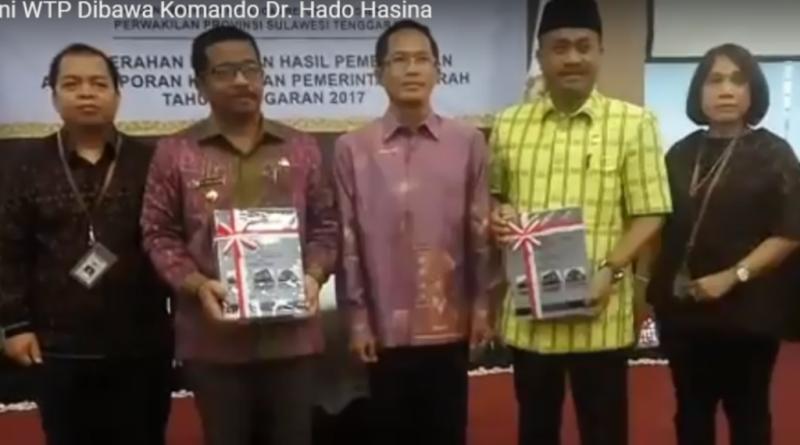 Bau-bau Raih Opini WTP Dibawa Komando Dr. Hado Hasina
