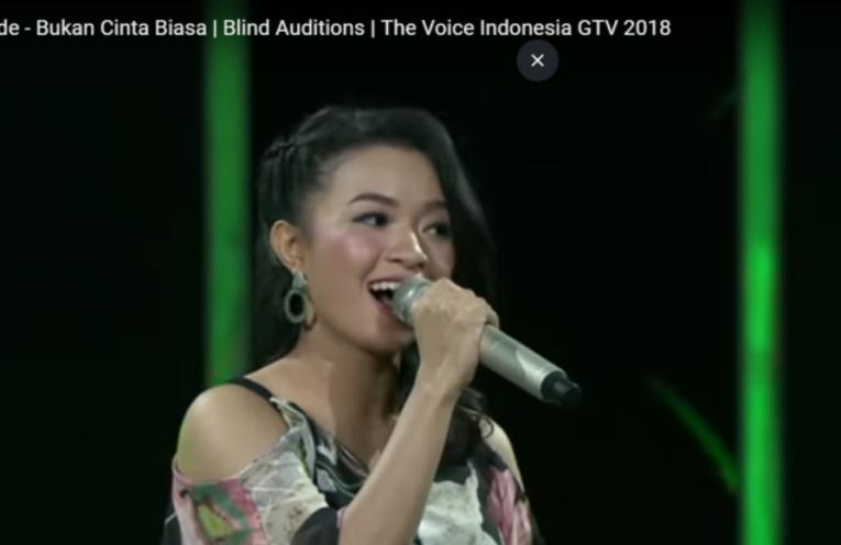 Video : Waode Baubau di The Voice Indonesia