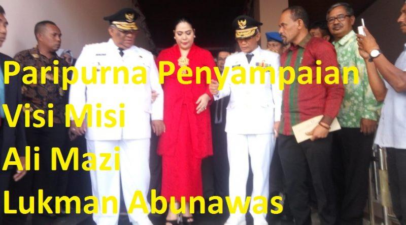 Video, Program 100 Hari Gubernur Sultra, Ali Mazi-Lukman Abunawas