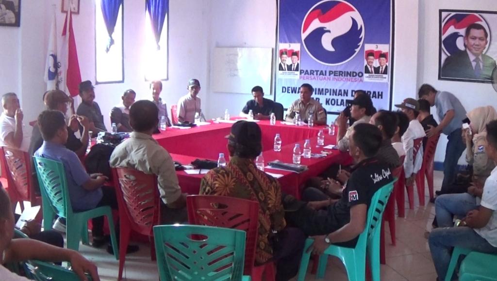 Konsolidasi Partai Perindo Jelang Pilgub Sultra