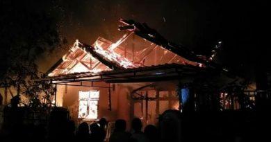 Dua Rumah Hangus Terbakar di Kolaka, Ini Penyebabnya