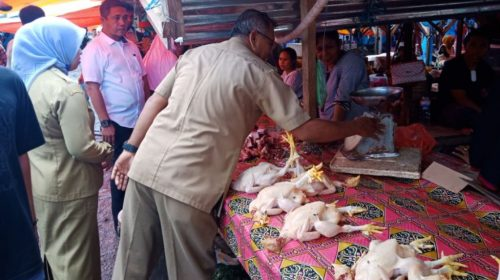 Disperindag Muna Bersama Polres Sidak Pasar Tradisional, Ini Hasilnya