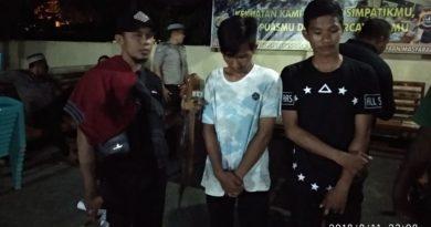Dua Pemuda Baubau Diamankan Polisi Saat Operasi Cipkon