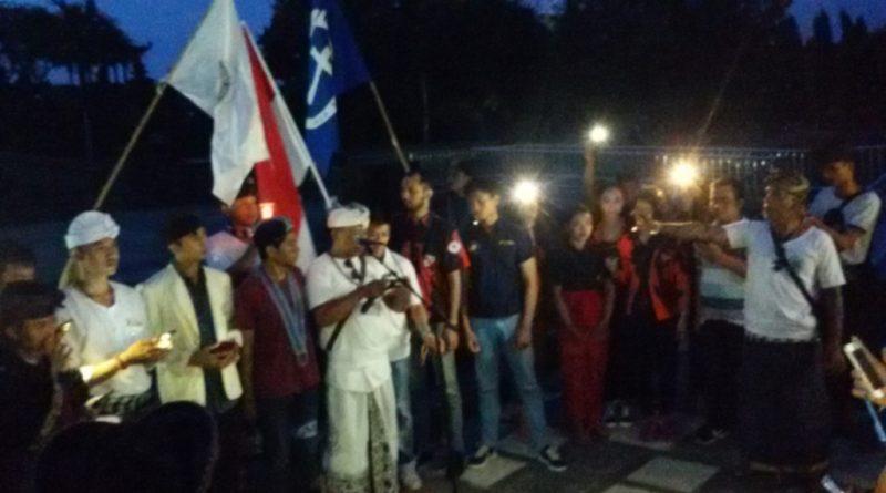 Kecam Aksi Terorisme, Aliansi Pemuda Bali Gelar Aksi Solidaritas