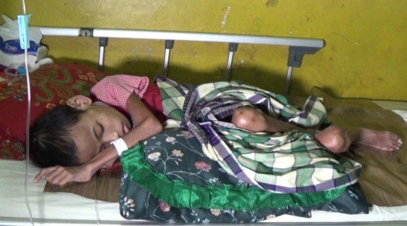 Seorang Anak Diduga Diterlantarkan Ayahnya di RSBG Kolaka