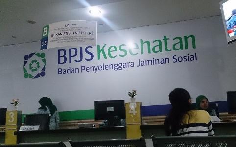 Kantor Cabang BPJS Kesehatan yang selalu siap melayani masyarakat. FOTO : NURAKHMAWATI