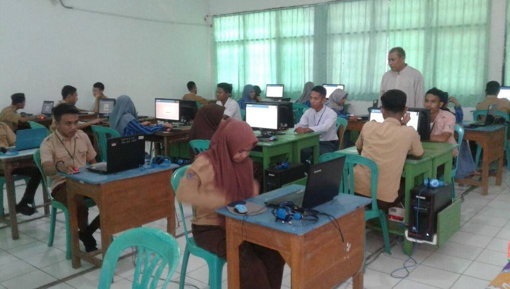 SMA Muhammadiyah Kota Kendari Sukses Laksanakan UNBK Tahun Ini