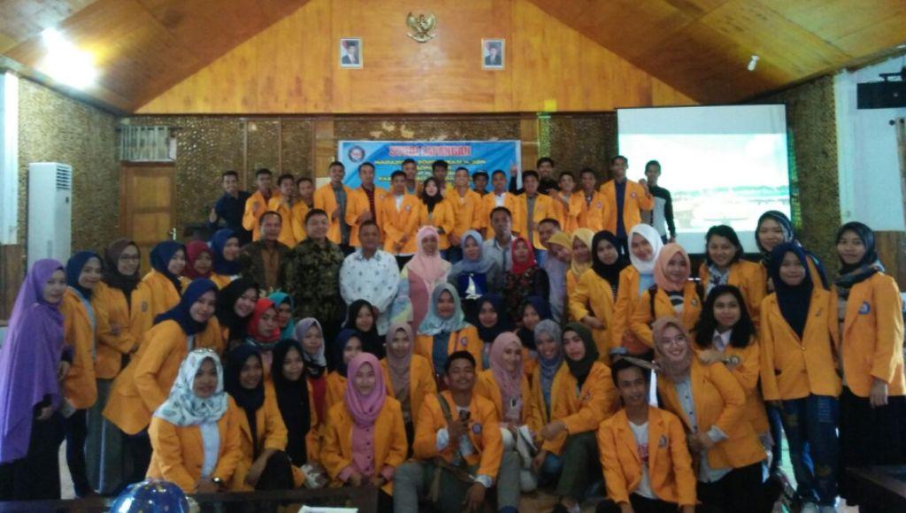 Mahasiswa UHO Study Lapangan di Wakatobi