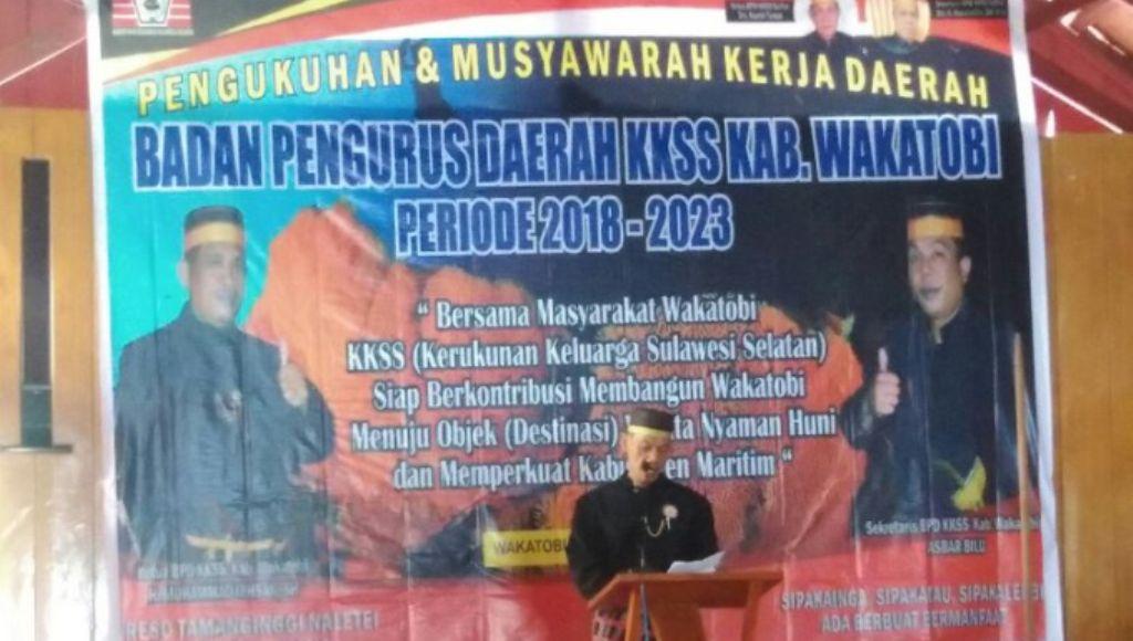 Kerukunan Keluarga Sulawesi Selatan di Wakatobi Dikukuhkan