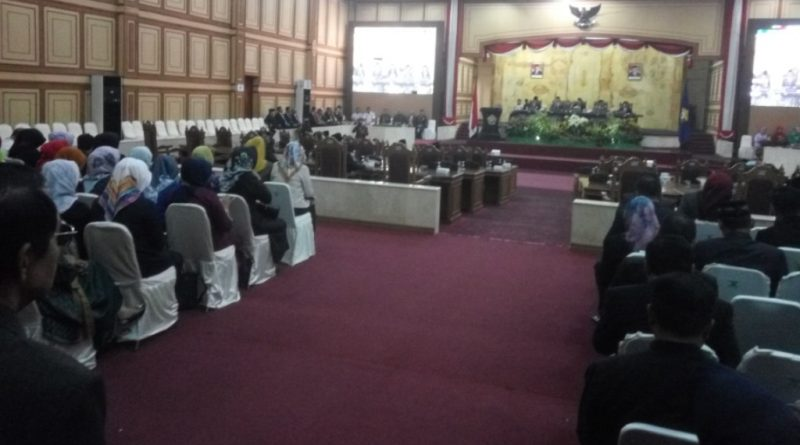 Paripurna Pidato Kenegaraan Presiden RI, DPRD Sultra Hadirkan Ali Mazi-Lukman Abunawas