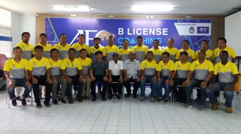 Kursus Pelatih Licensi B AFC Selesai
