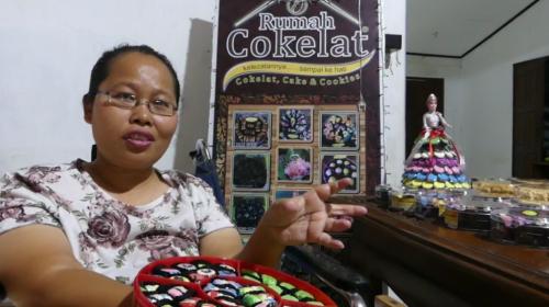 Jelang Lebaran, Pesanan Coklat Karakter Meningkat 60 Persen