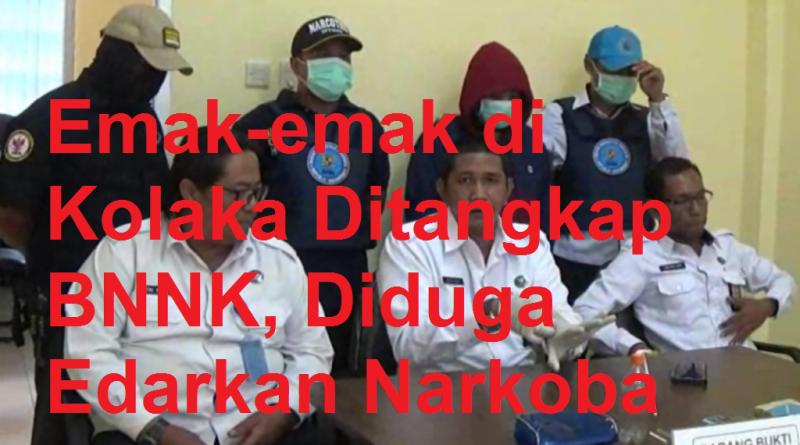 Emak-emak di Kolaka Ditangkap BNNK, Diduga Edarkan Narkoba
