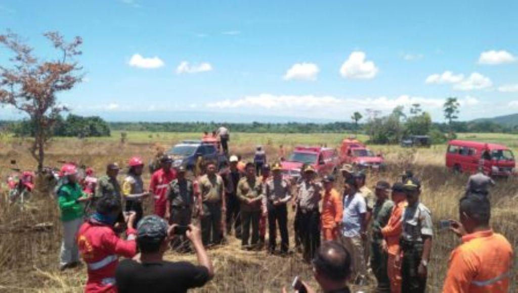 Kapolres Konsel Tinjau Langsung Lokasi Kebakaran Hutan