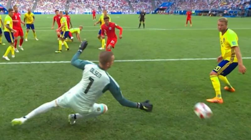 Cuplikan Video Full Pertandingan Swedia Vs Inggris, Skor