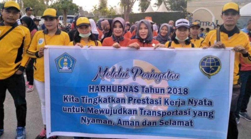 Video, Harhubnas 2018, Dishub Sultra Gelar Jalan Santai Bertabur Hadiah