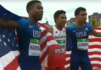 Video: Muhammad Zohri Pelari 100 Meter Indonesia Juara Dunia