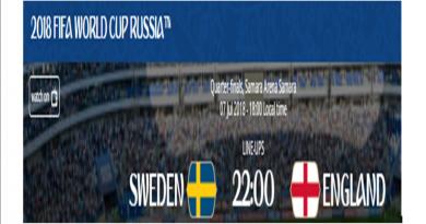 Live Piala Dunia Pertandingan Swedia Vs Inggris Disini
