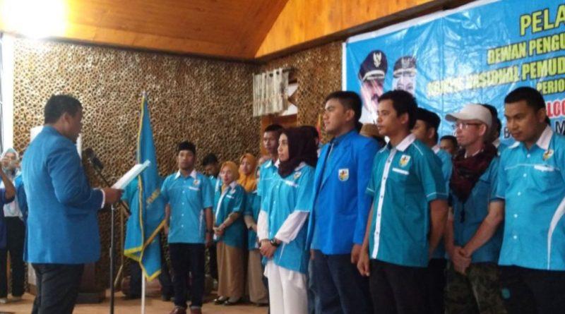 Pengurus DPD KNPI Wakatobi Dilantik, Achmad Aksar Nahkodanya