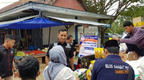 Jelang Lebaran, Polres Konawe Gelar Operasi Pasar
