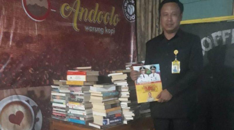 HUT RI, Humas Pemda Konsel Luncurkan Buku Dua Tahun Berkarya