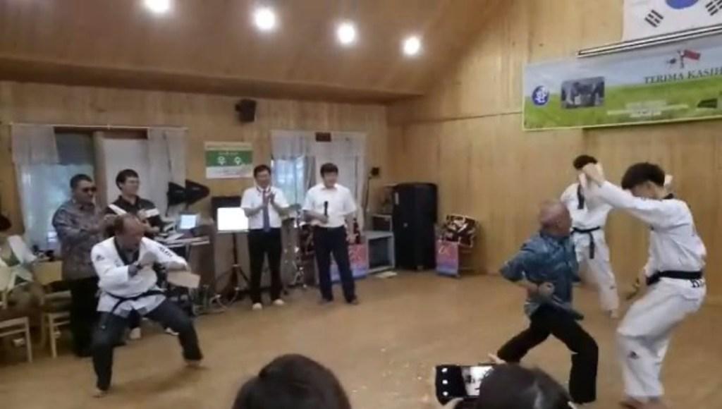 Sekda Pemprov Sultra Robohkan Tiga Pesilat Korea Berikut Videonya