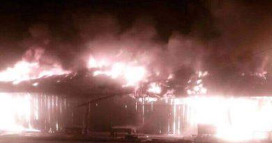 Pasar Laino Raha Terbakar 6 Kios Rata Dengan Tanah