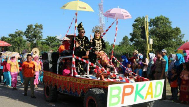 Jelang HUT ke XV, Pemda Konsel Gelar Karnaval Budaya