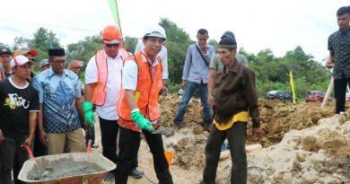 Ground Breaking Terbesar di Sultra Mulai Dibangun