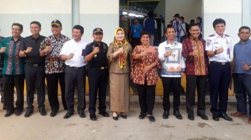 Hadiri Launching Ekspor Perdana Kepiting Bakau, Ini Kata Wabup Konsel