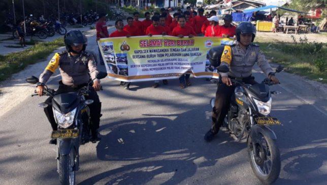 Rayakan May Day 1 Mei 2018, Polsek Masteng Silahturahmi Bersama Buruh