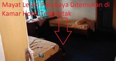Video, Mayat Lelaki Parubaya Ditemukan di Kamar Hotel Tergeletak