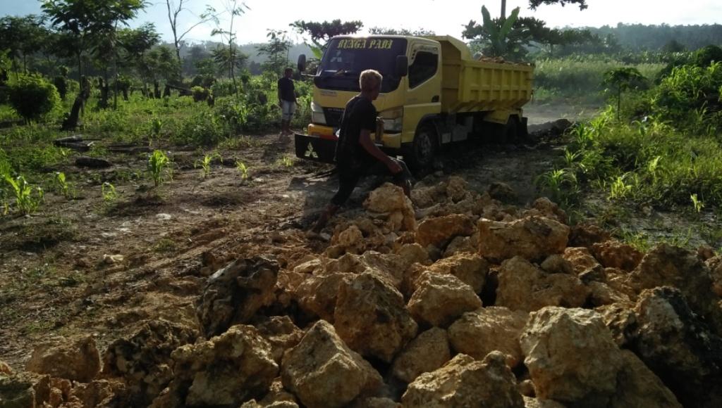 Menyeberang Tahun, Pekerjaan Irigasi Waode Angkalo Kembali Dikebut