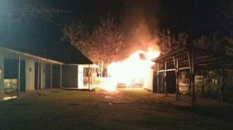 Dua Ruangan Sekretariat dan Mushollah DPRD Mubar Terbakar