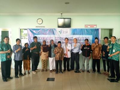 Ulang Tahun 94, RS Mata. dr. YAP Yogyakarta Gelar Operasi Katarak Gratis. FOTO : NADHIR
