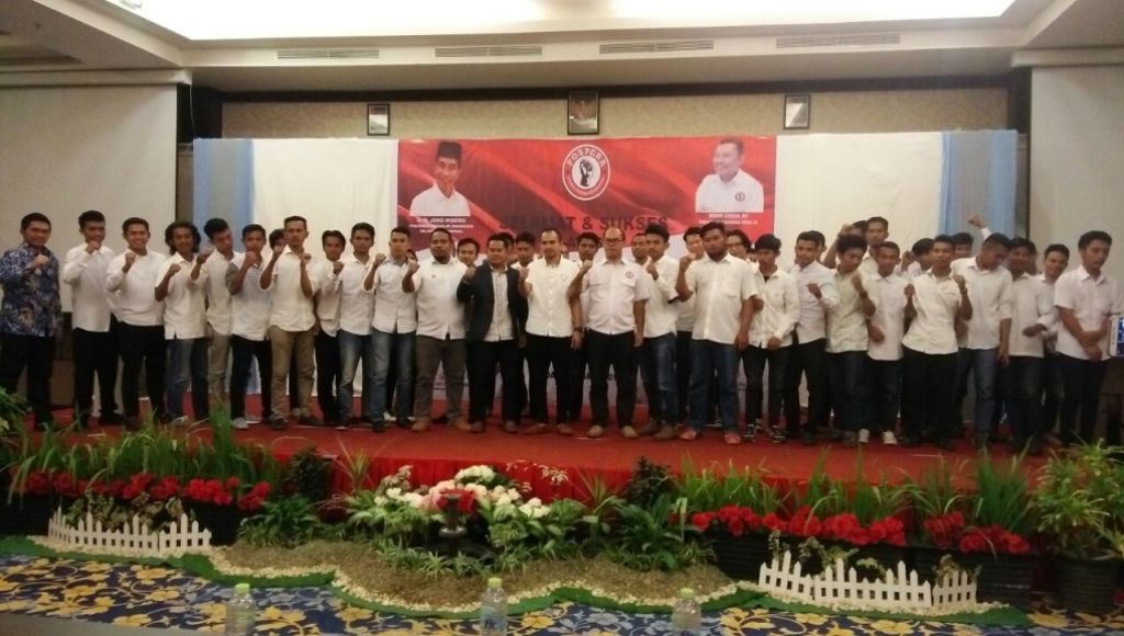 Puluhan Pengurus Pospera Kota Kendari Dilantik