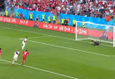 Video Cuplikan Pertandingan Denmark VS Peru, Skor 1 - 0