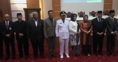 Ketua DPRD Sultra Hadiri Pelantikan Pj Walikota Baubau