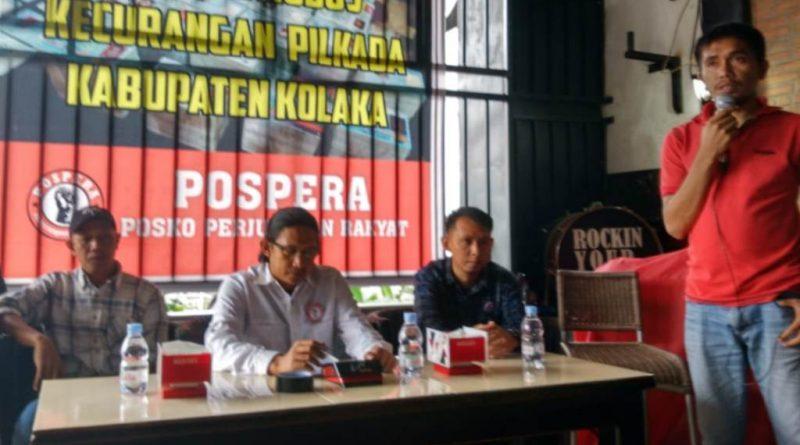 Pospera: Pilkada Kabupaten Kolaka Syarat Kecurangan