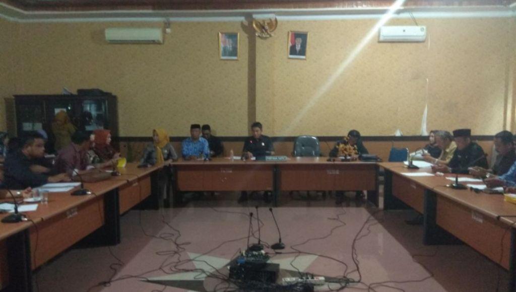 RDP Dugaan Penyerobotan Wilayah Antara Kecamatan Palangga dan Baito