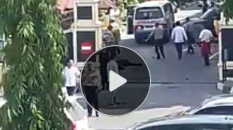 Video, Detik - detik Penyerangan di Polda Riau